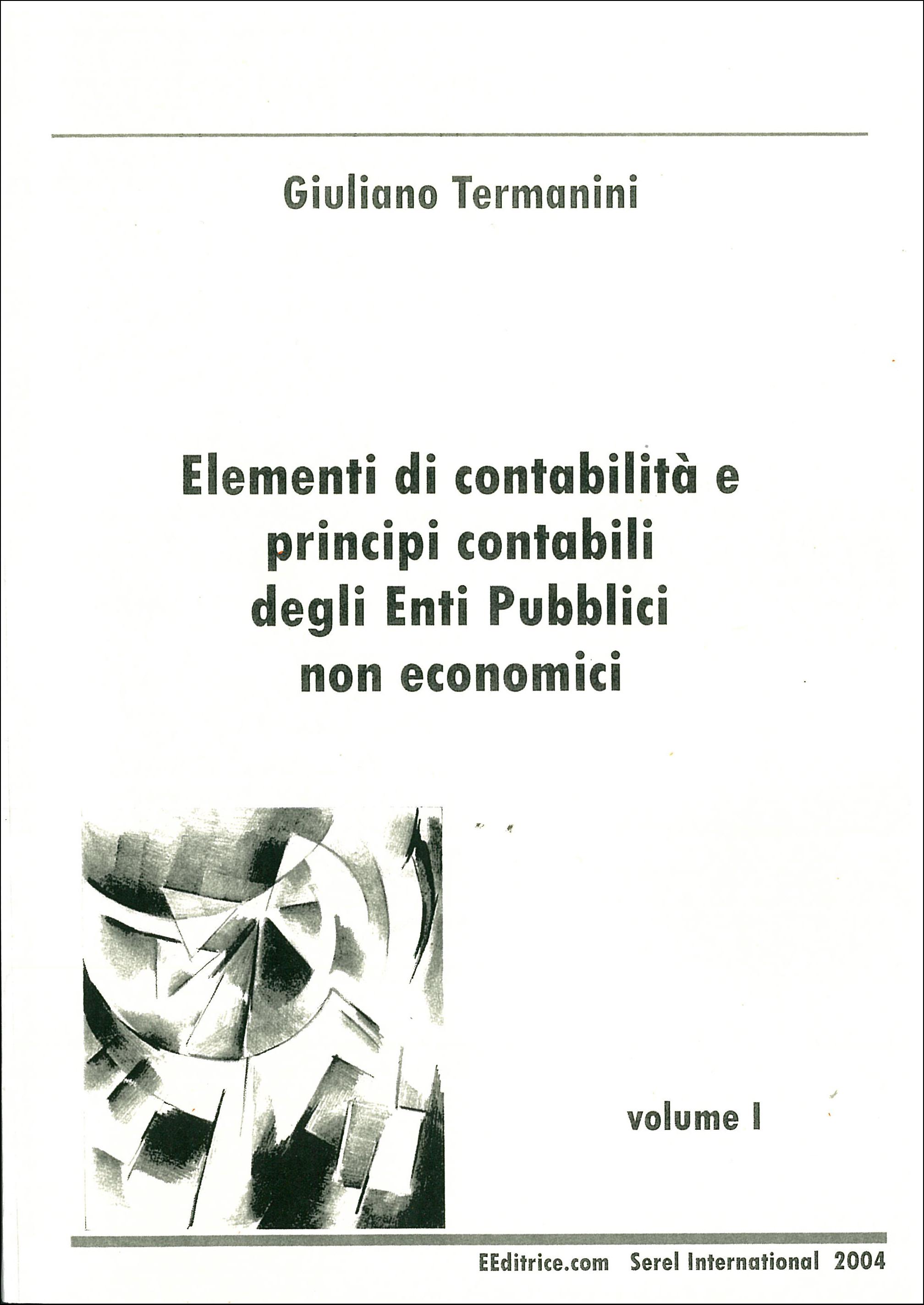 Elementi di contabilità degli enti pubblici non economici